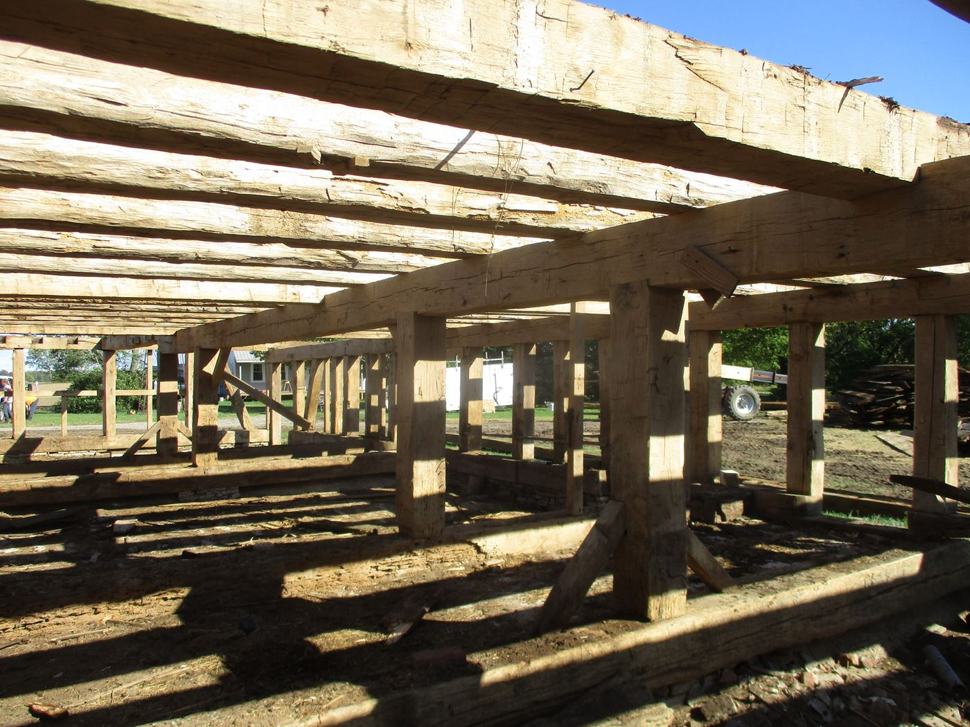 Bluffton Allen Historic Barn Frame 13