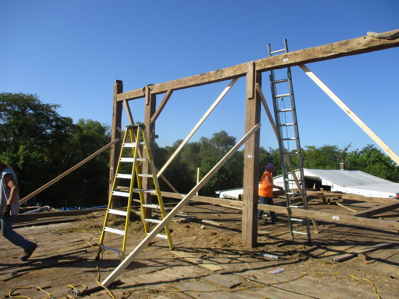 Bluffton Allen Historic Barn Frame 17