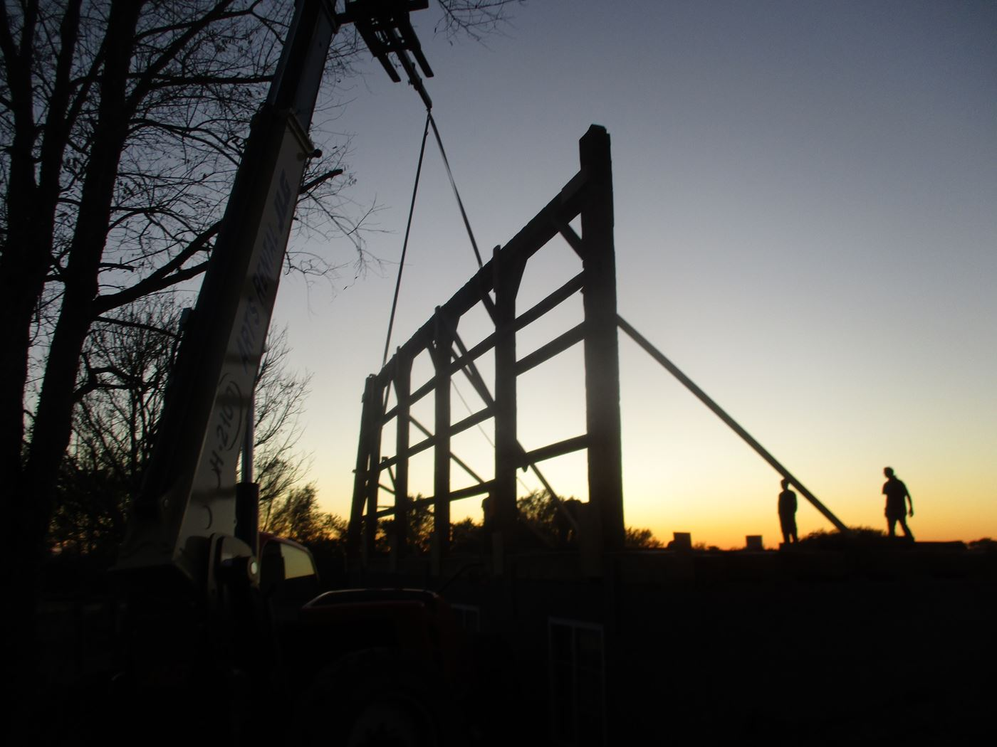 Bluffton Allen Historic Barn Frame 18