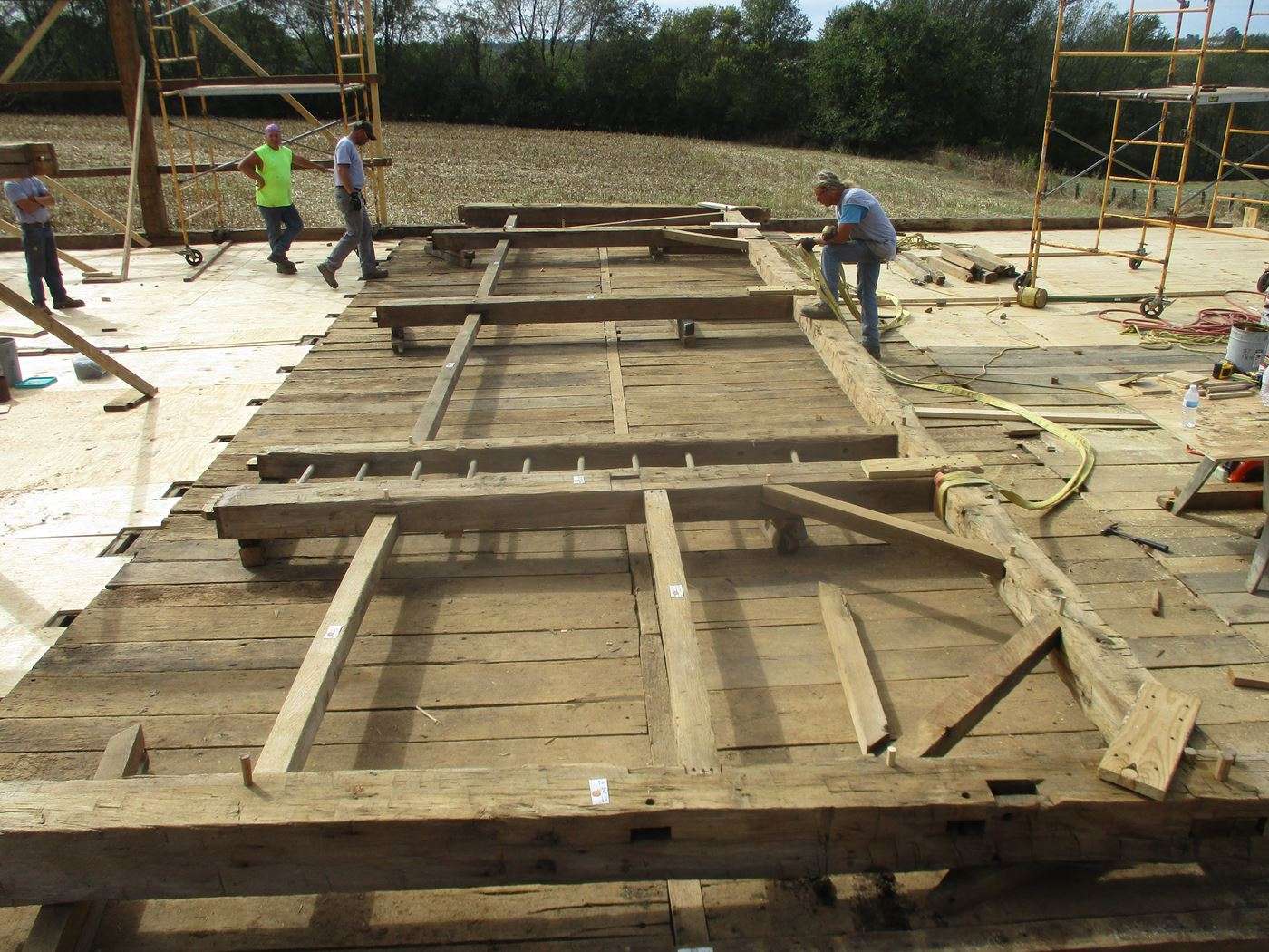 Bluffton Allen Historic Barn Frame 19