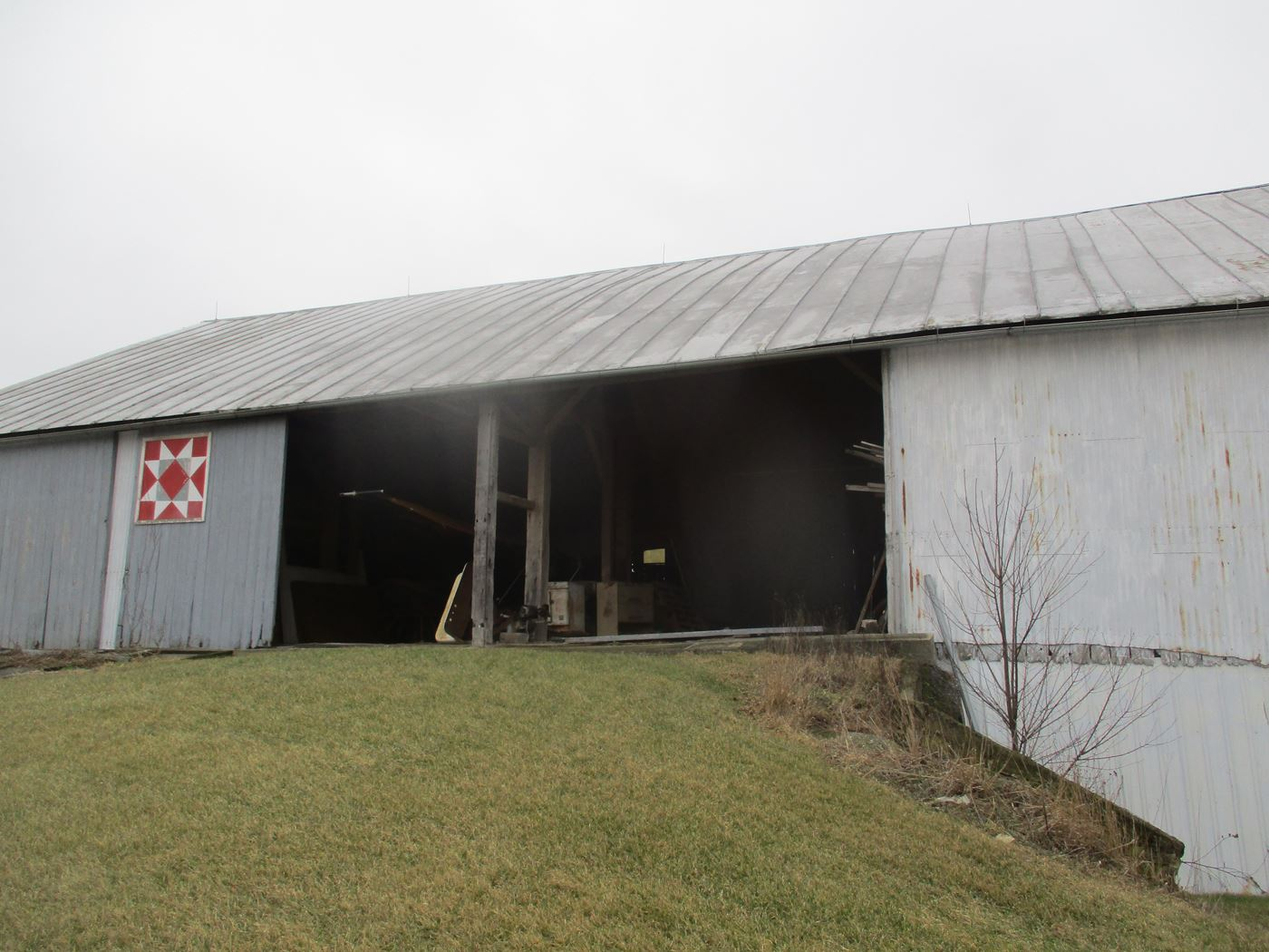 Bluffton Allen Historic Barn Frame 2