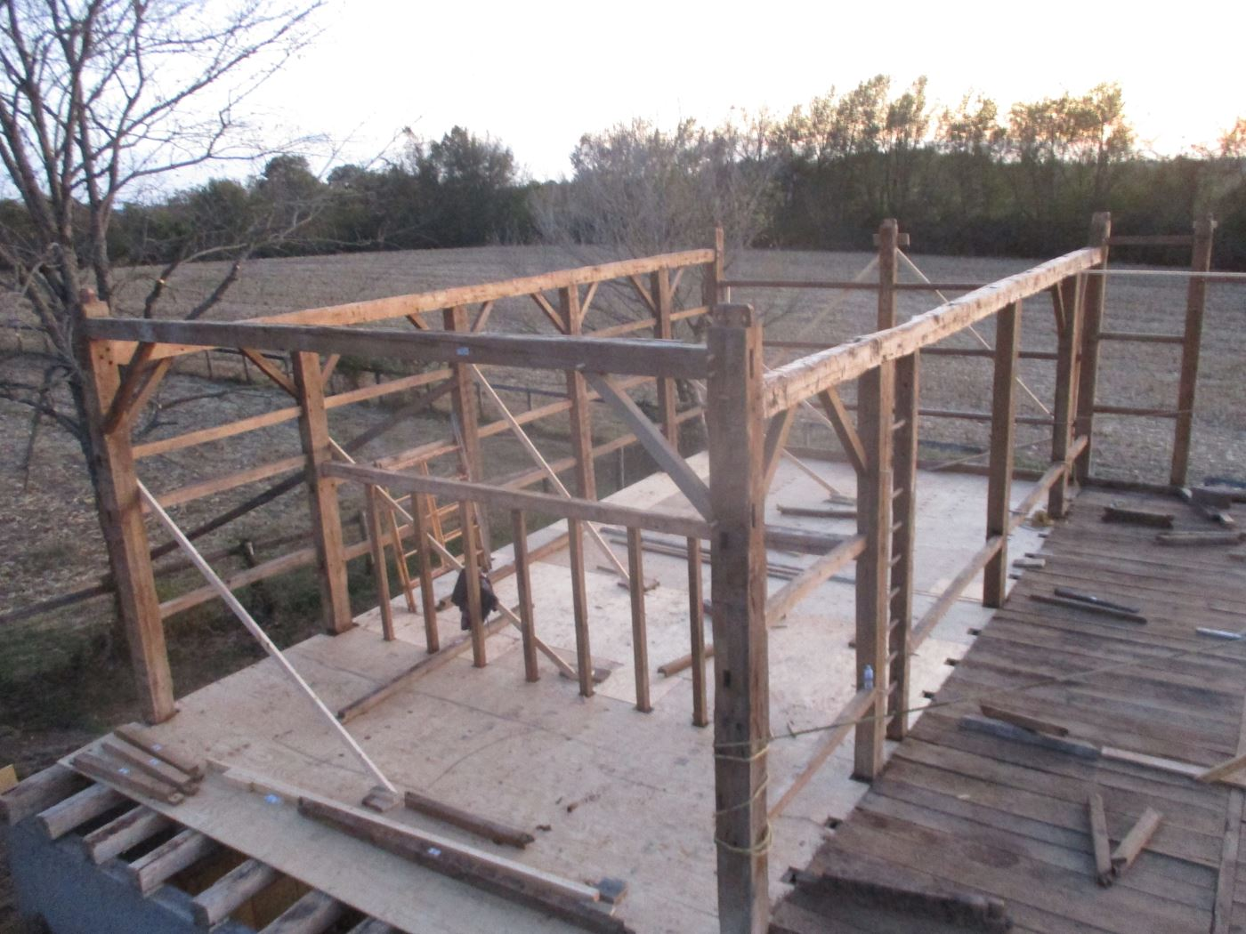 Bluffton Allen Historic Barn Frame 20