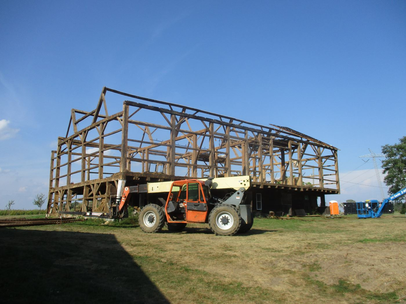 Bluffton Allen Historic Barn Frame 25