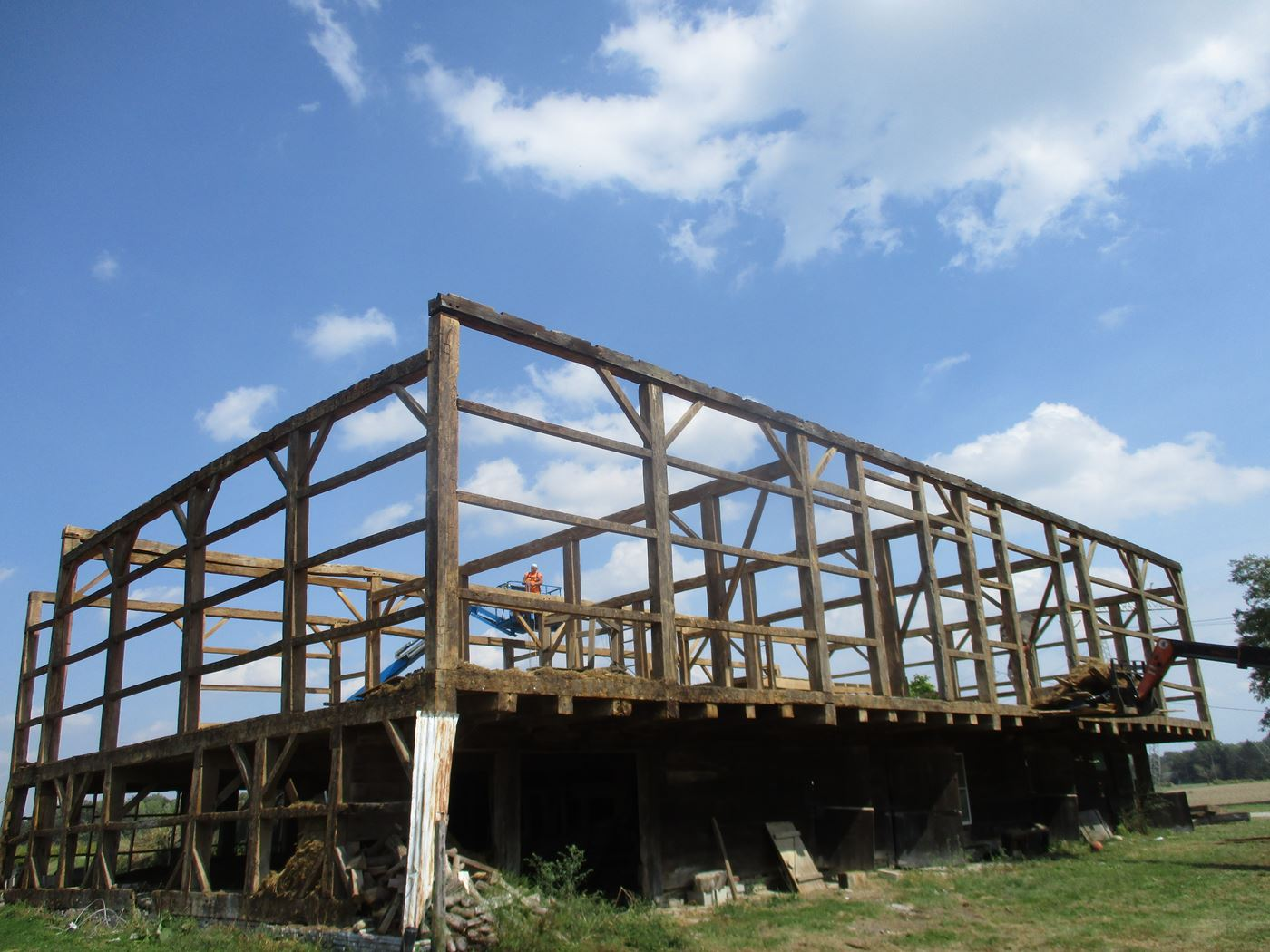 Bluffton Allen Historic Barn Frame 26