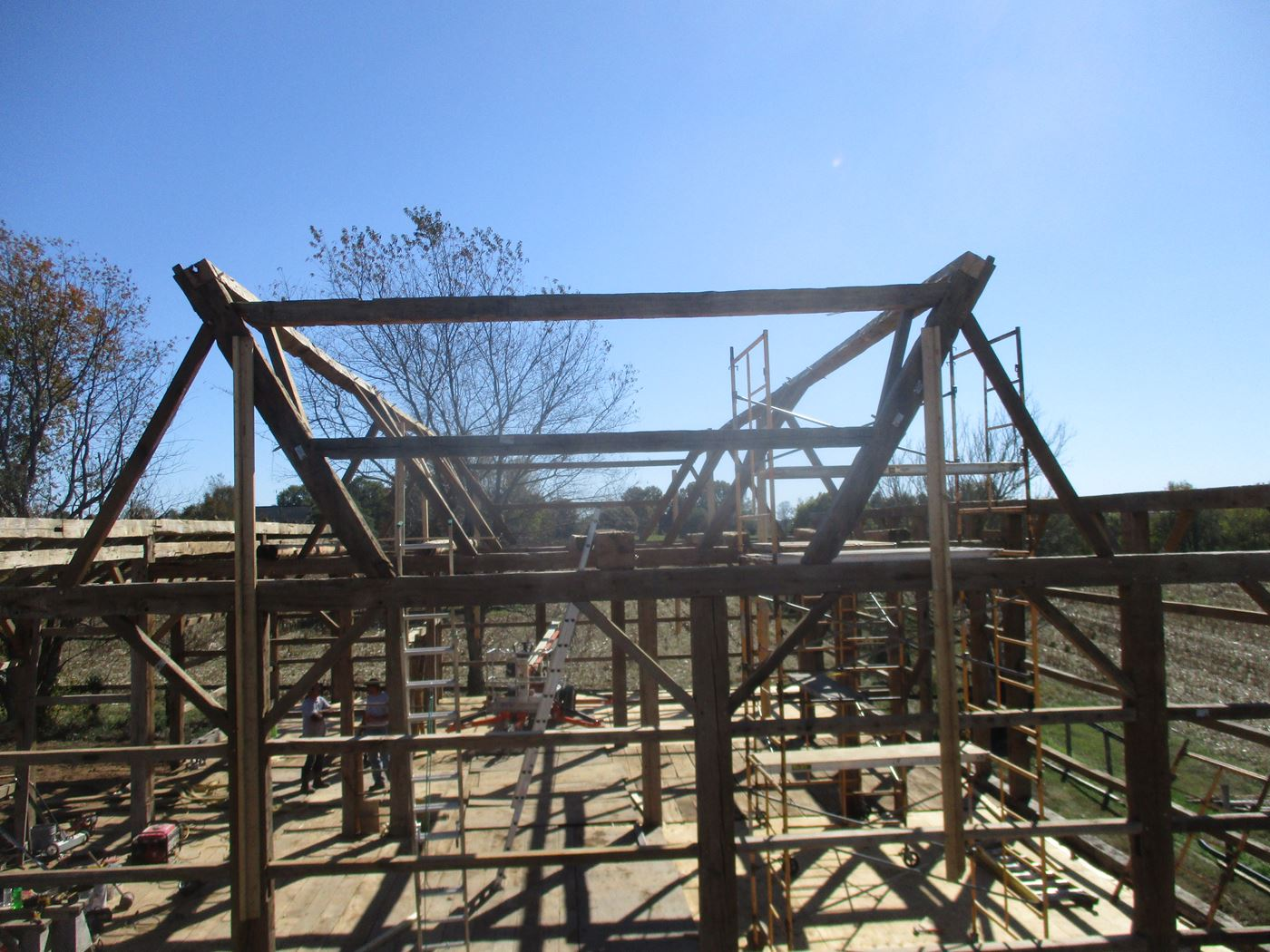 Bluffton Allen Historic Barn Frame 29
