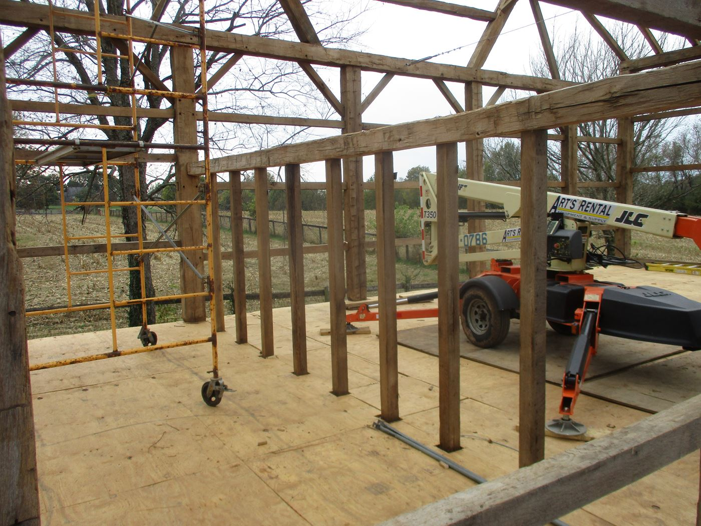 Bluffton Allen Historic Barn Frame 31