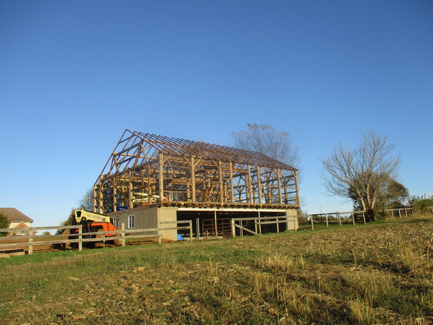 Bluffton Allen Historic Barn Frame 35