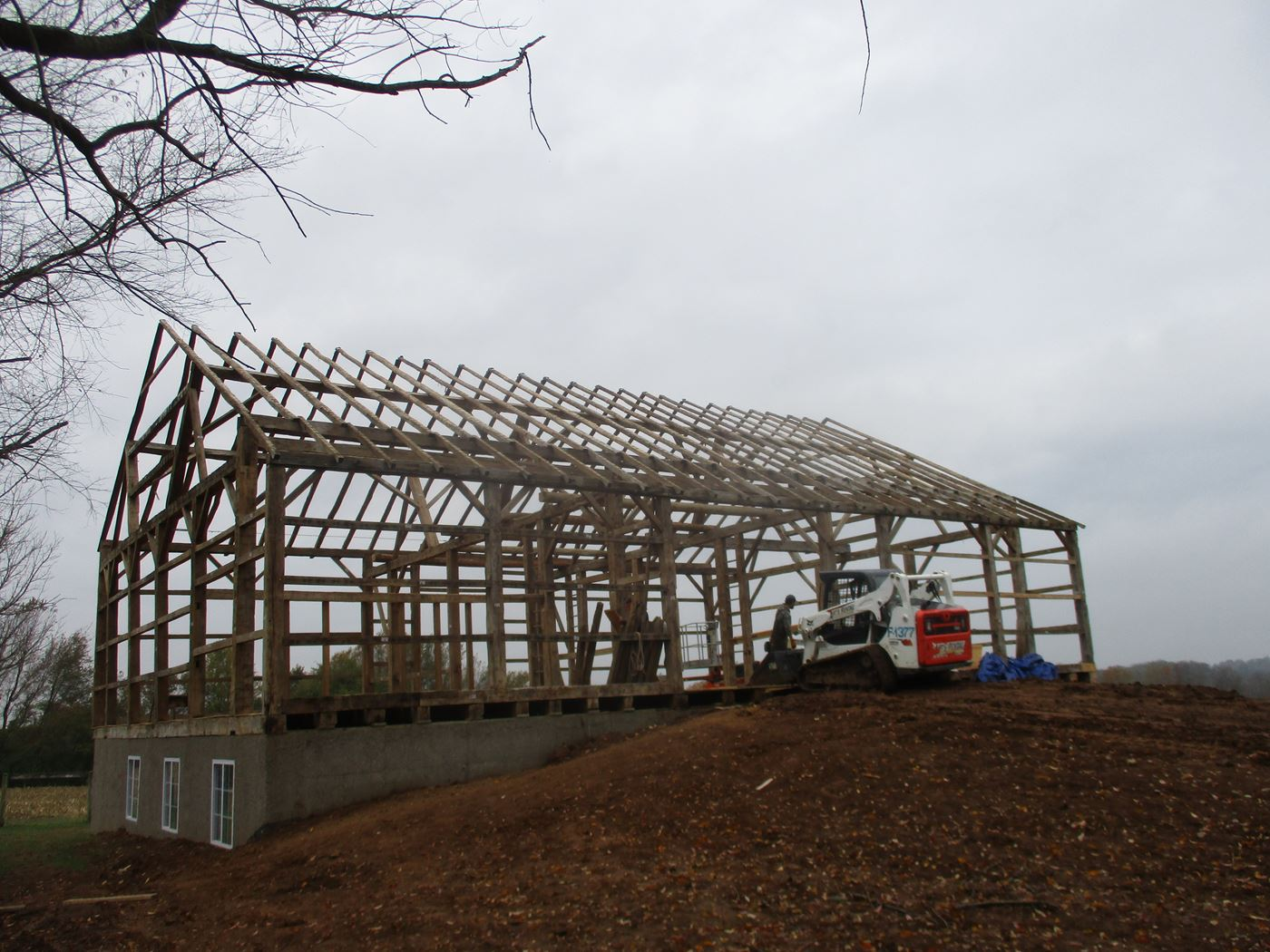 Bluffton Allen Historic Barn Frame 36
