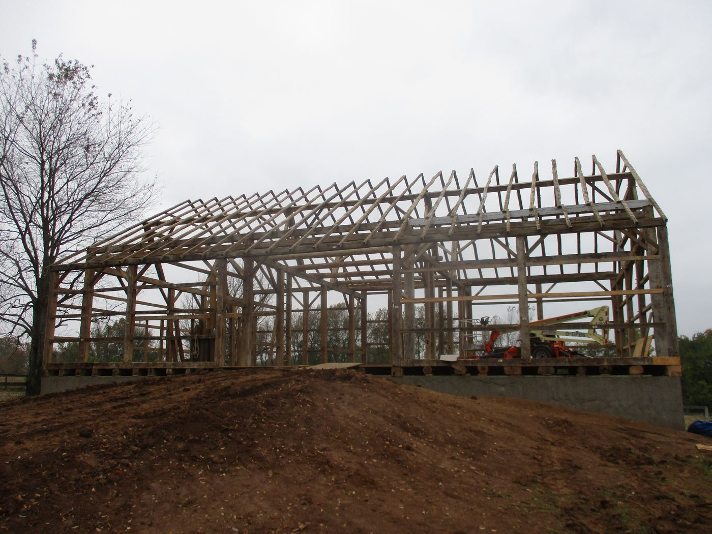 Bluffton Allen Historic Barn Frame 38