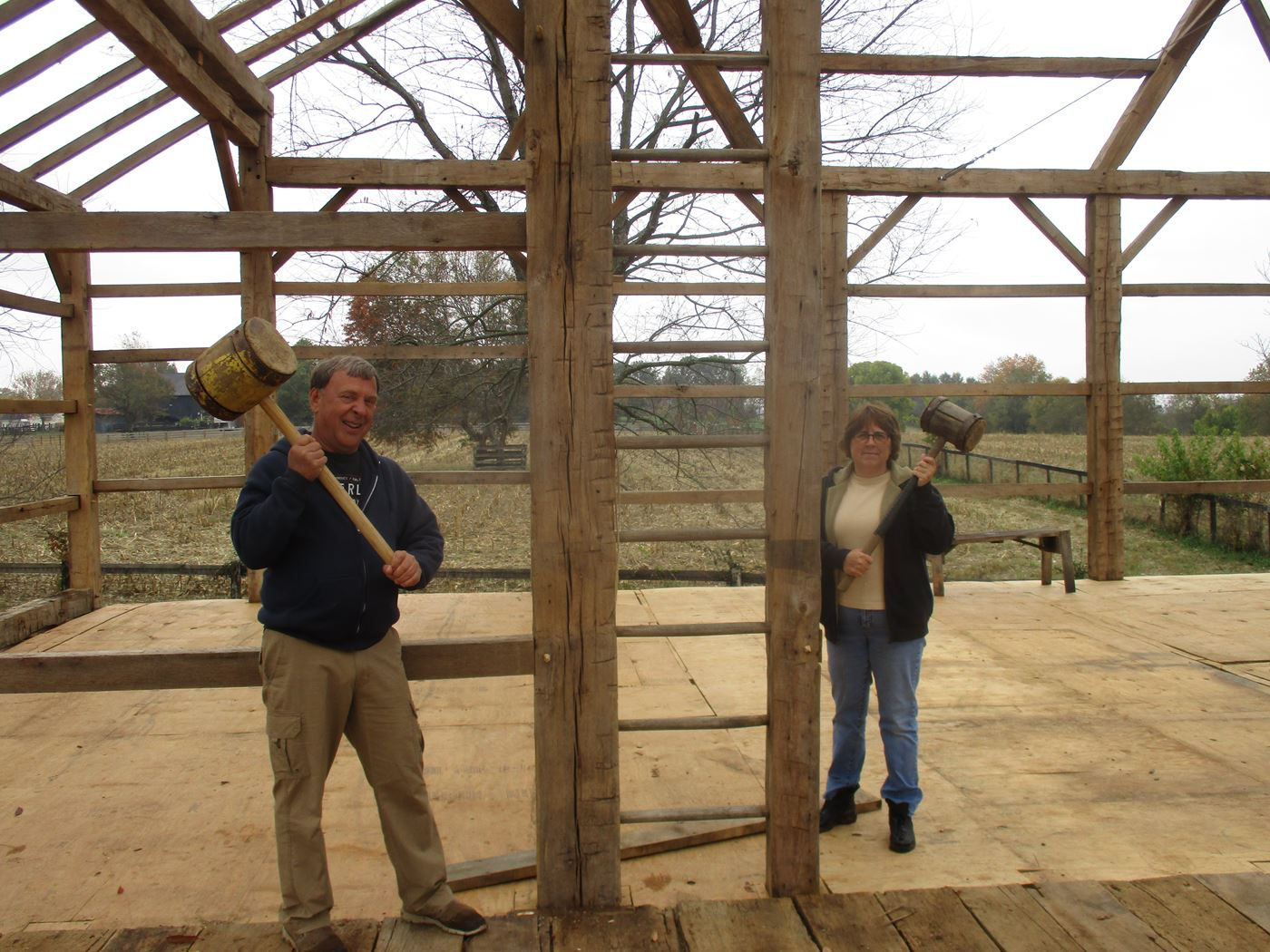 Bluffton Allen Historic Barn Frame 39