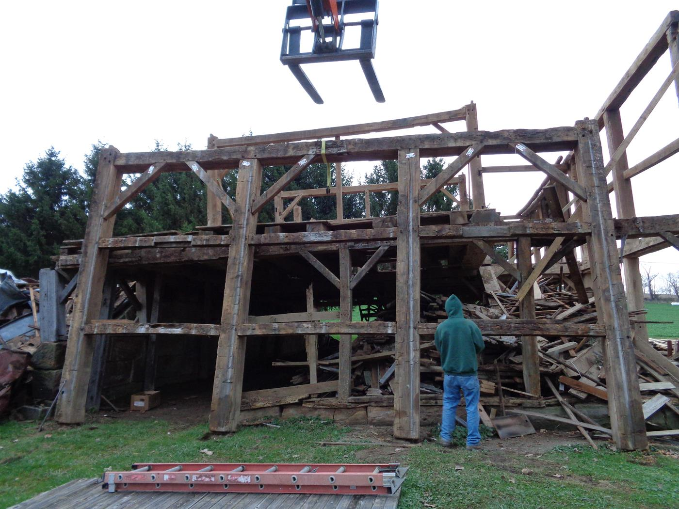 Building Barn Cabin Restoration Services Salvage Danville 4
