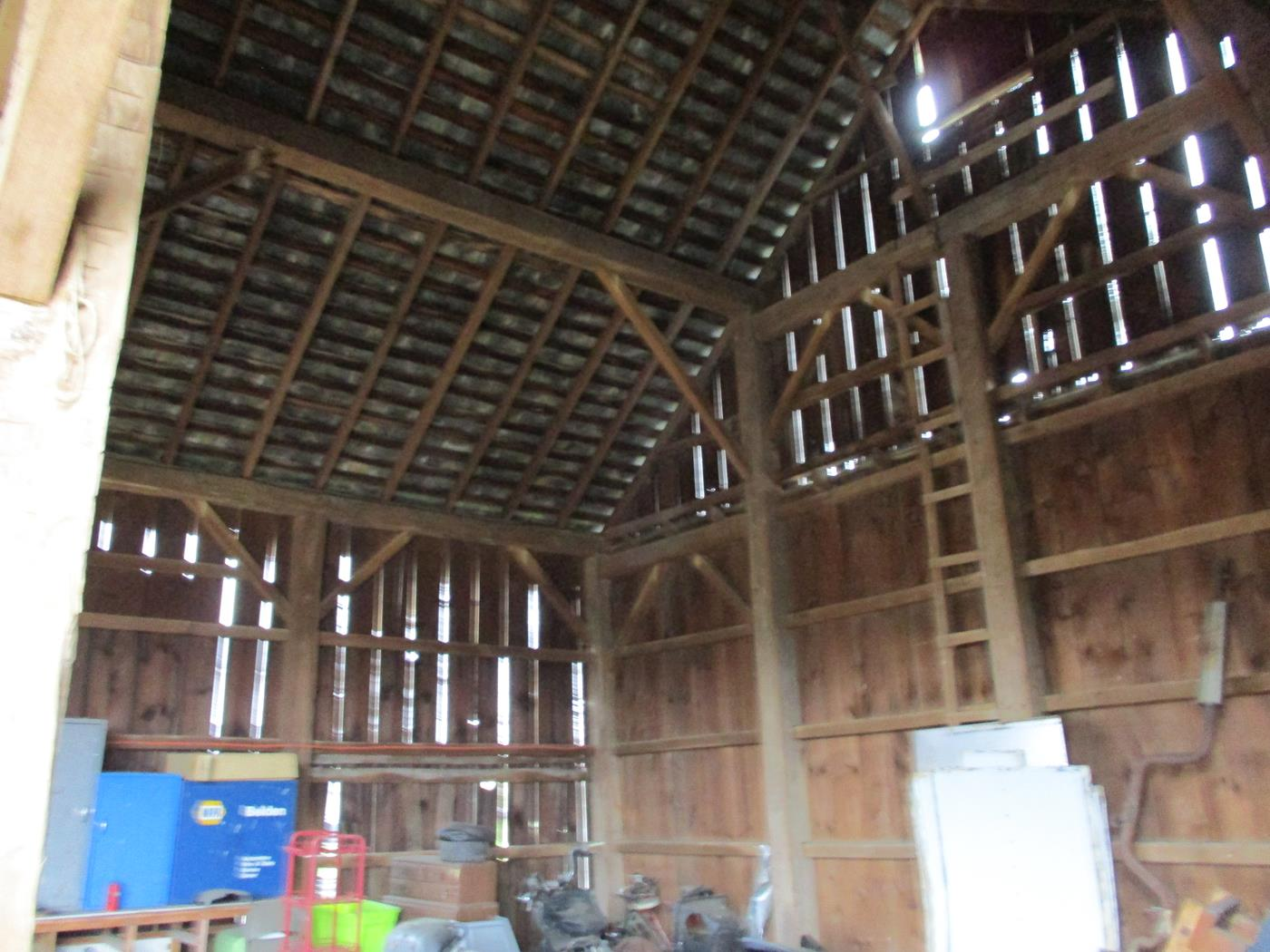 Coon Path Barn Frame Ohio Valley Barn Salvage 4