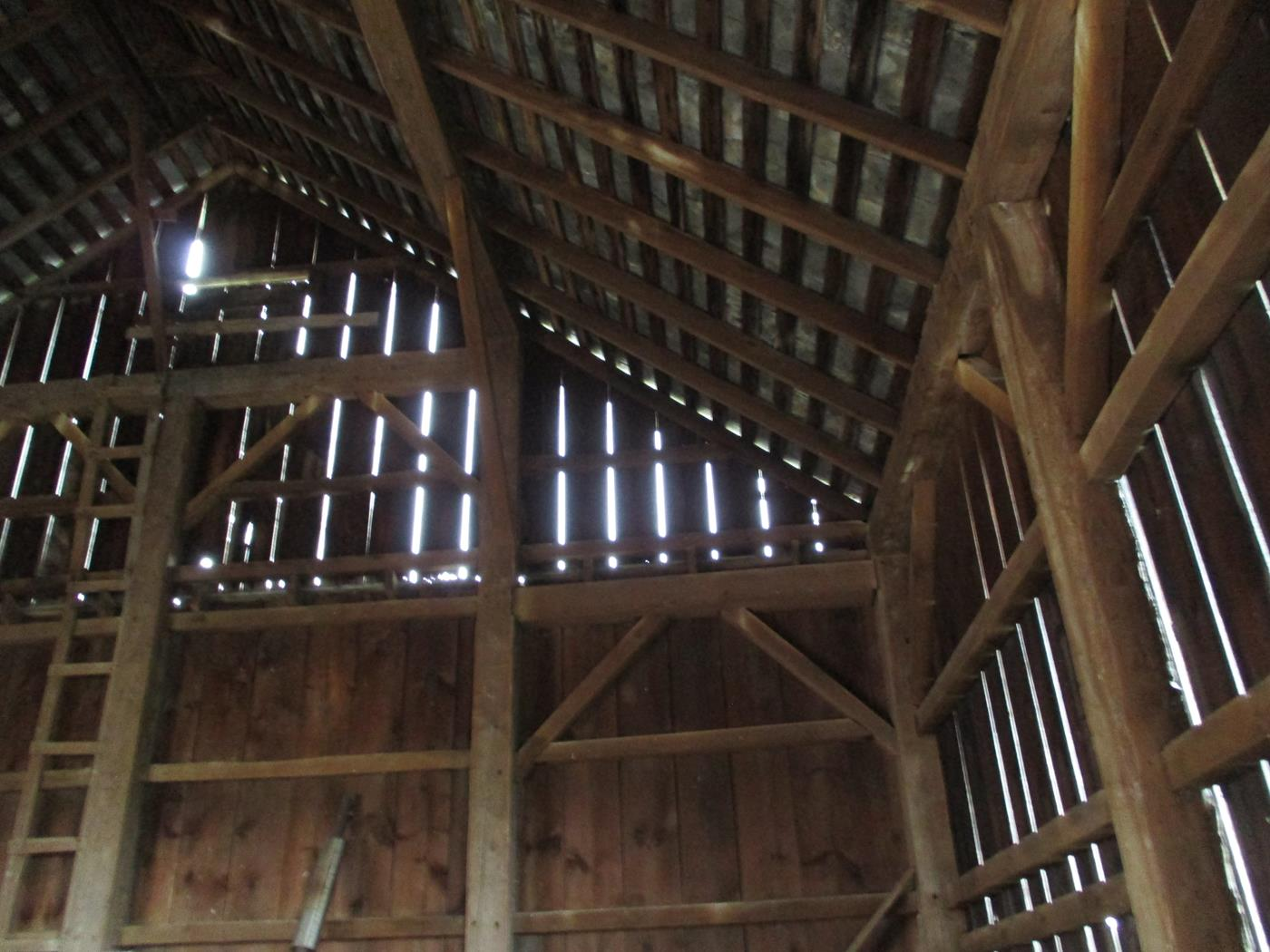 Coon Path Barn Frame Ohio Valley Barn Salvage 5