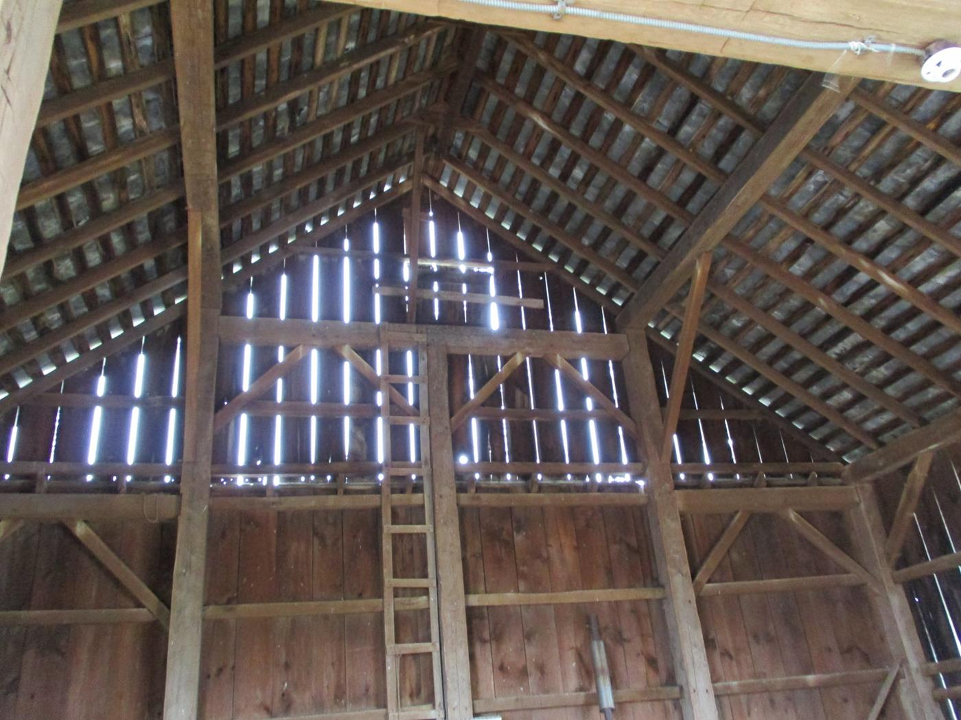Coon Path Barn Frame Ohio Valley Barn Salvage 8