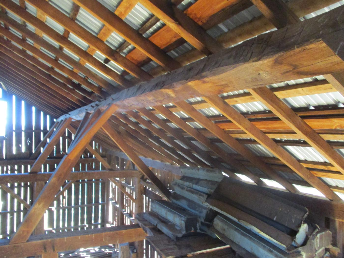 Crimson Road Barn Frame Ohio Valley Barn Salvage 10