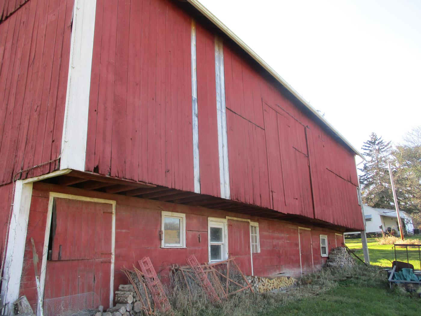Crimson Road Barn Frame Ohio Valley Barn Salvage 2