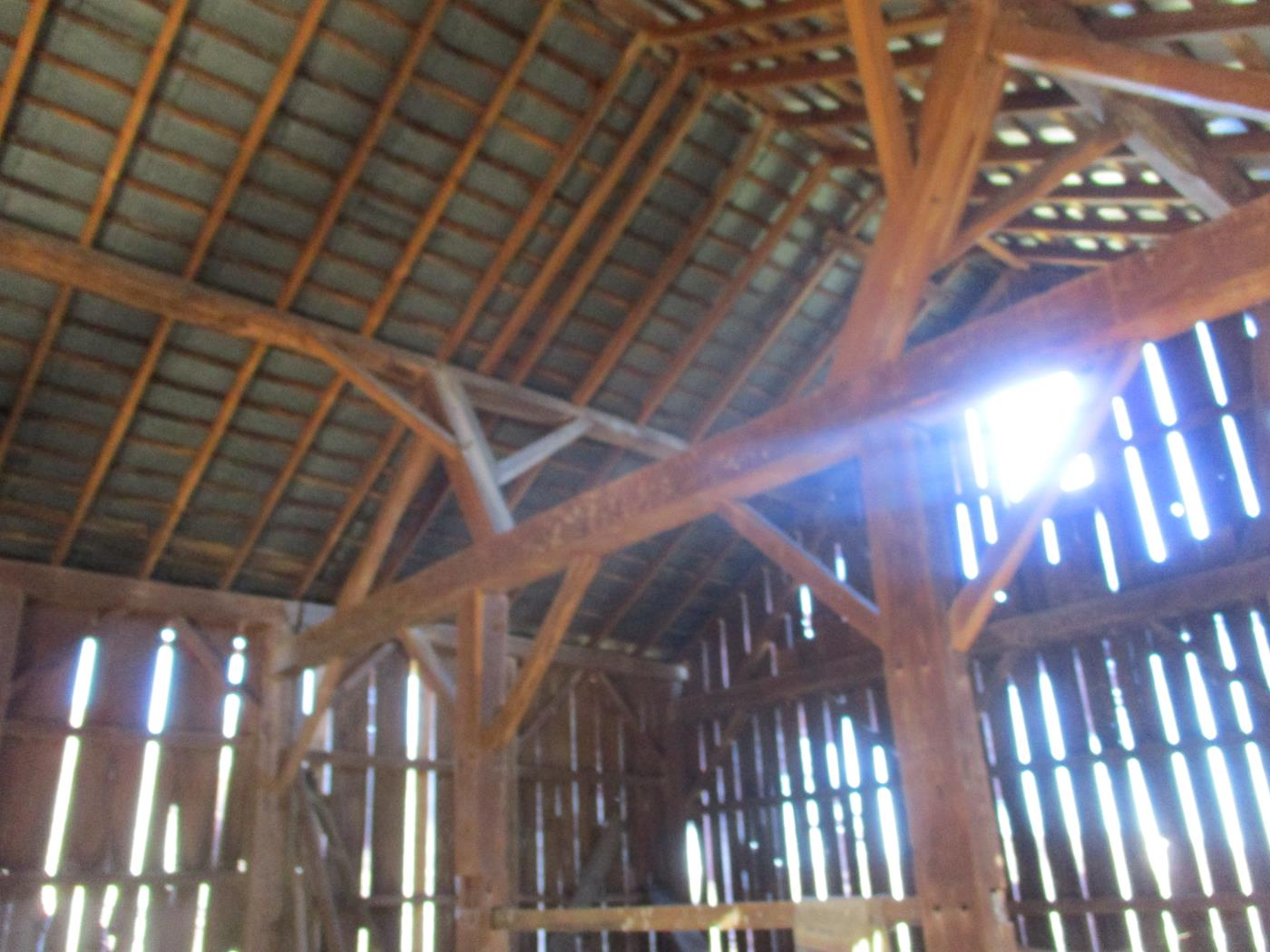 Crimson Road Barn Frame Ohio Valley Barn Salvage 3