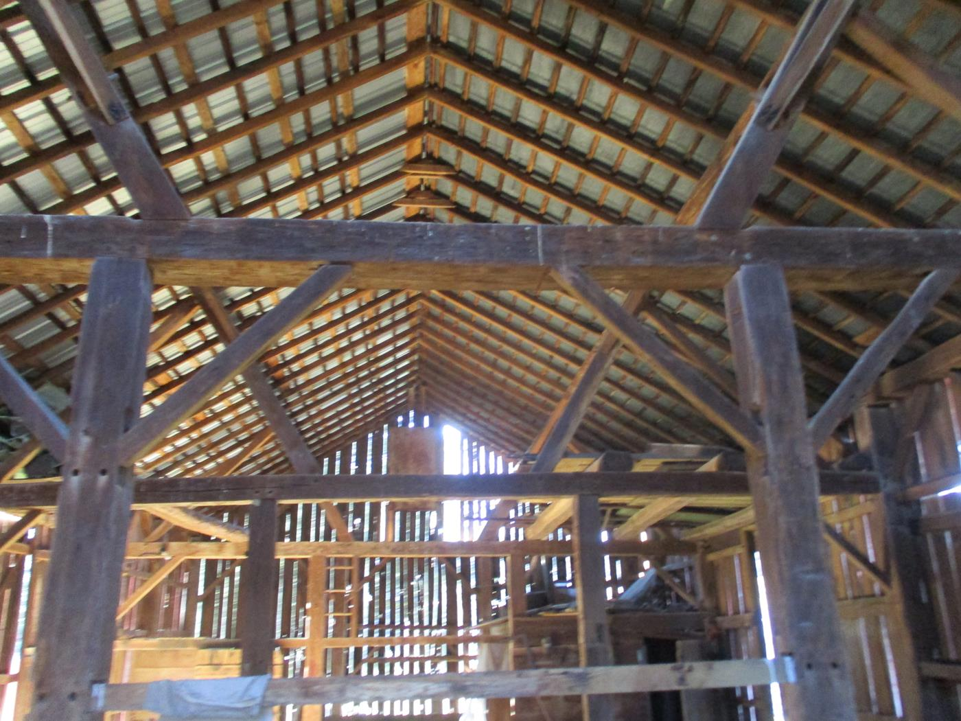 Crimson Road Barn Frame Ohio Valley Barn Salvage 6