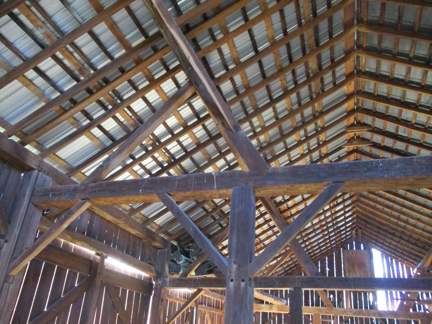 Crimson Road Barn Frame Ohio Valley Barn Salvage 7