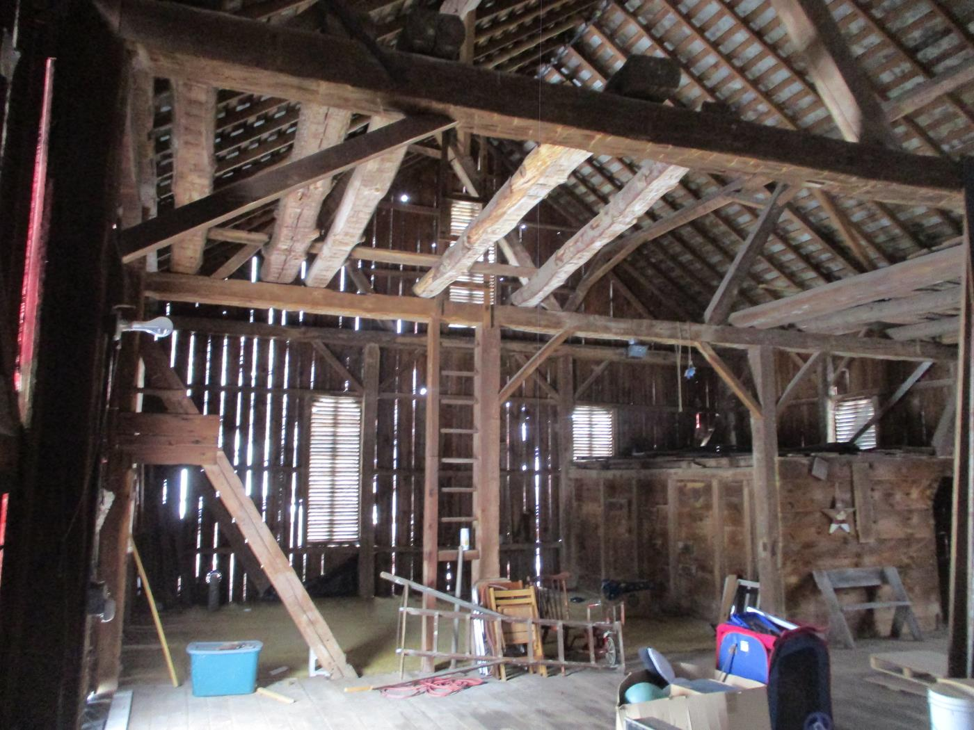 East Canton Barn Frame Ohio Valley Barn Salvage 10