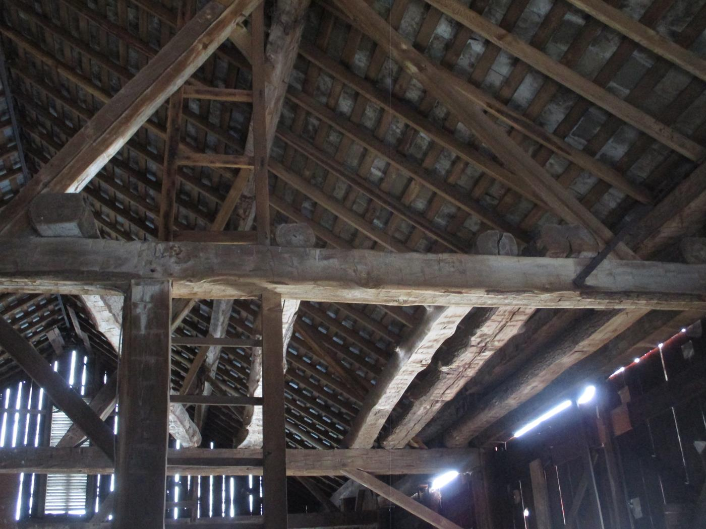 East Canton Barn Frame Ohio Valley Barn Salvage 6