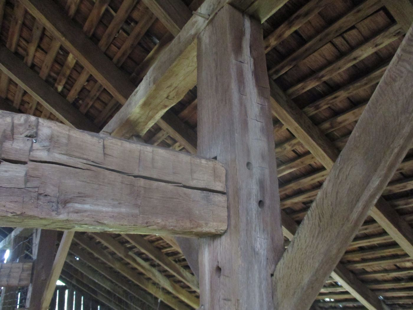 Furnas Barn Frame Mortise Tenon 16