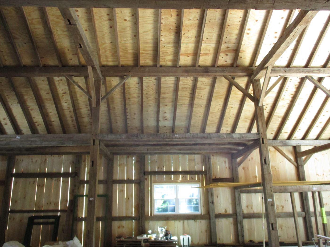 George Rene Sutton Barn Frame Ohio Valley Barn Salvage 13