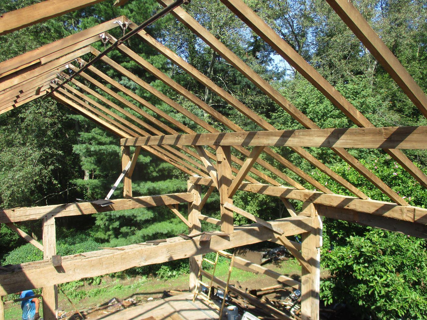 Hughes Barn Frame *Ready To Ship* - Ohio Valley Barn ...