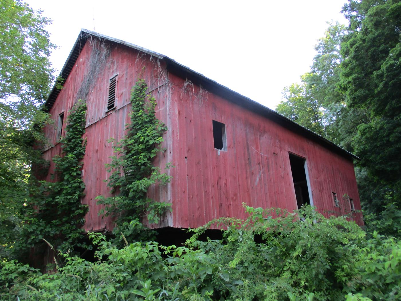 Loudonville Barn Frame Ohio Valley Barn Salvage 1