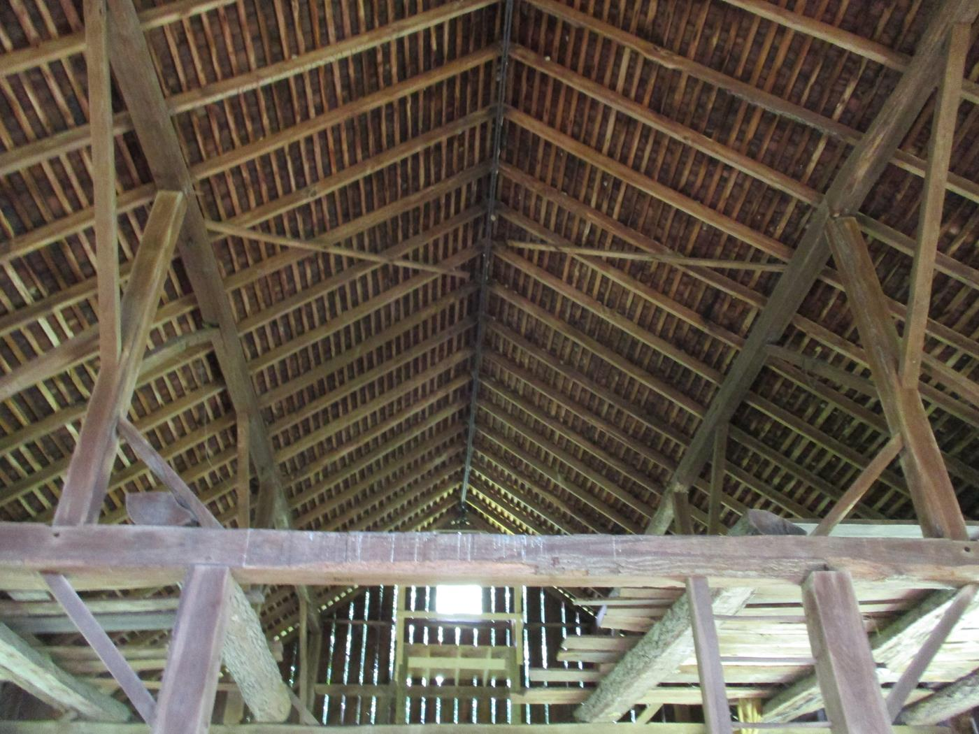 Loudonville Barn Frame Ohio Valley Barn Salvage 2