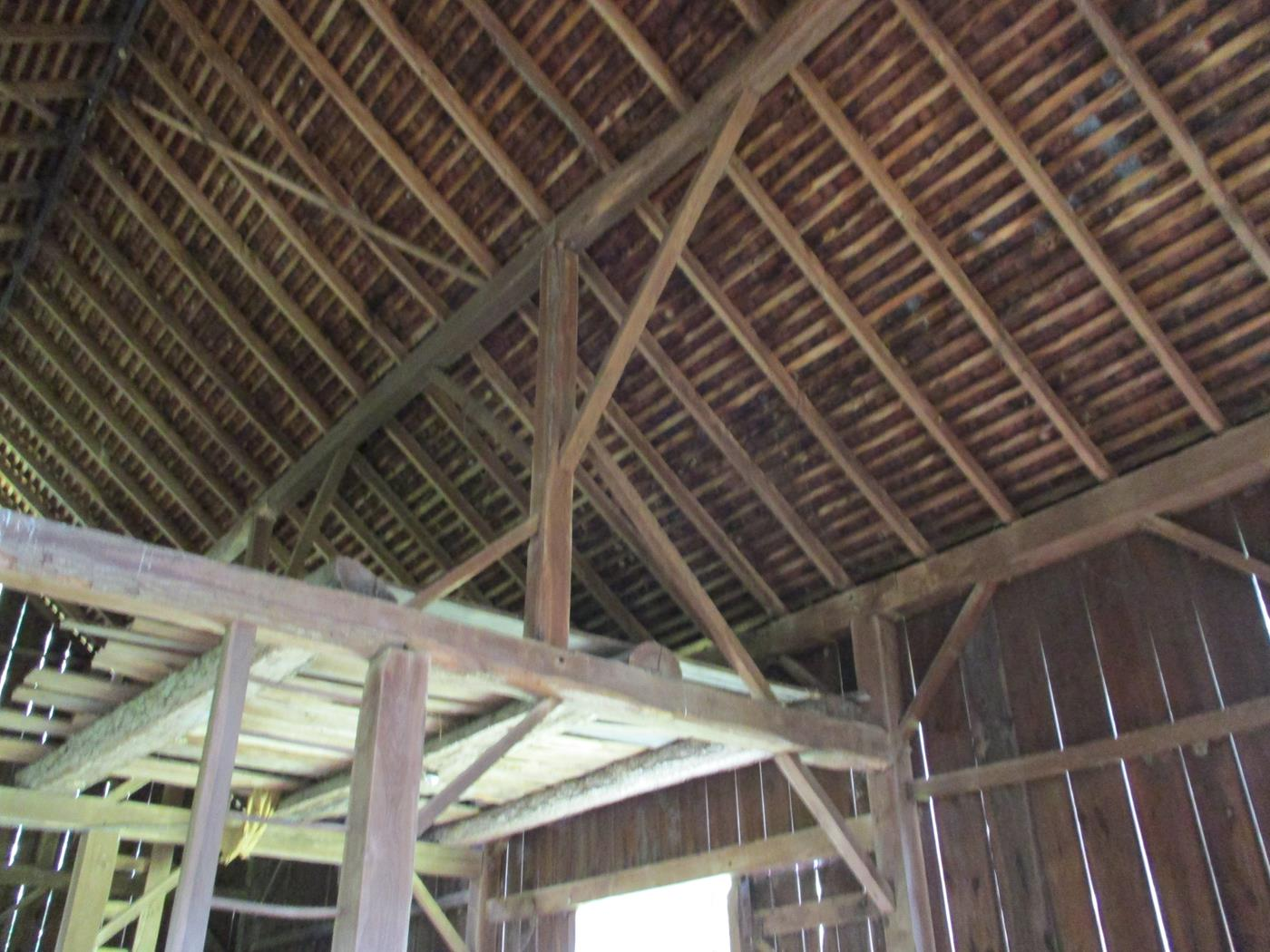 Loudonville Barn Frame Ohio Valley Barn Salvage 3