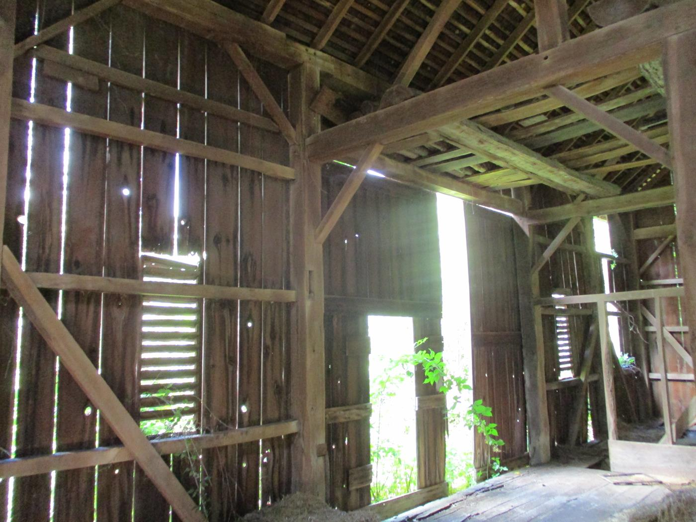 Loudonville Barn Frame Ohio Valley Barn Salvage 4