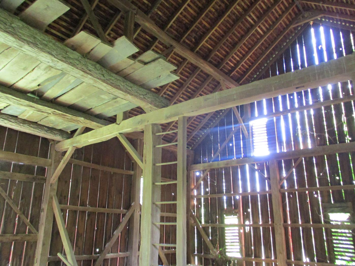 Loudonville Barn Frame Ohio Valley Barn Salvage 5