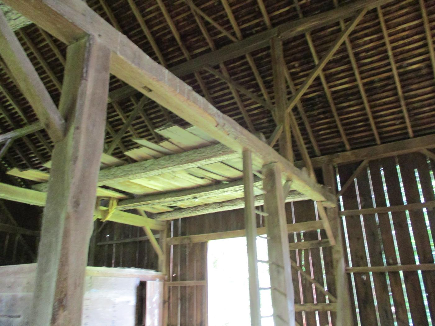 Loudonville Barn Frame Ohio Valley Barn Salvage 7
