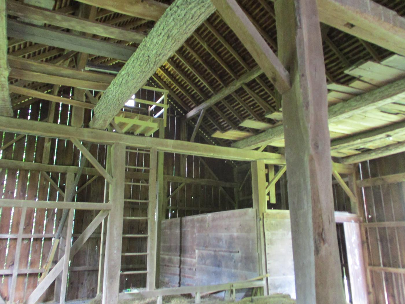 Loudonville Barn Frame Ohio Valley Barn Salvage 8