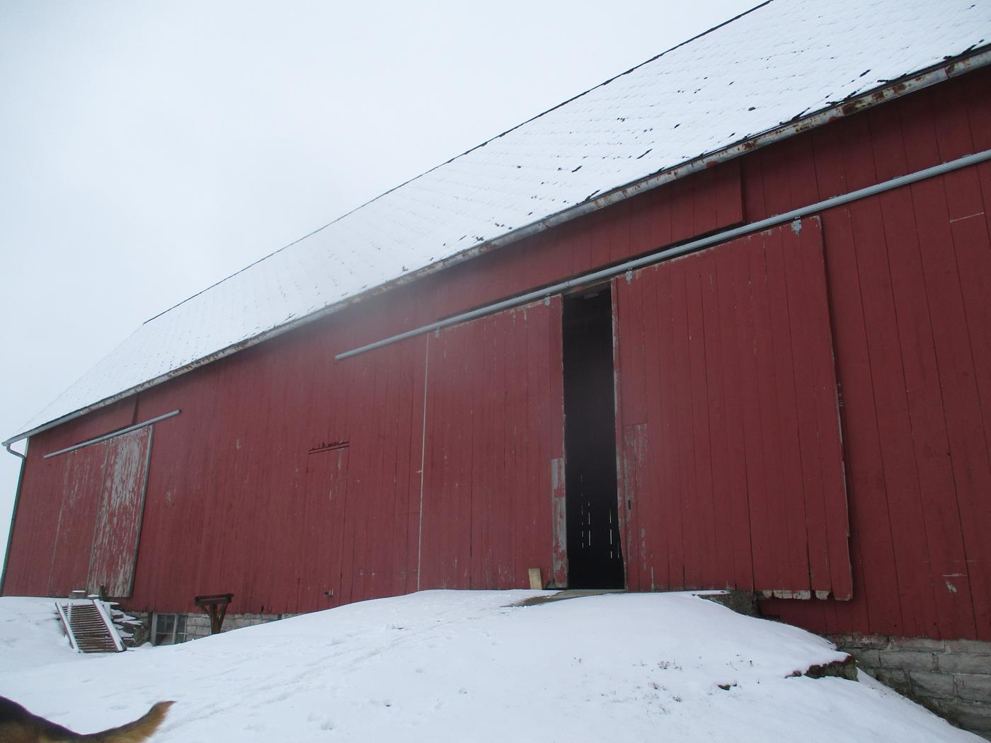 New Washington Barn Frame Ohio Valley Barn Salvage 1