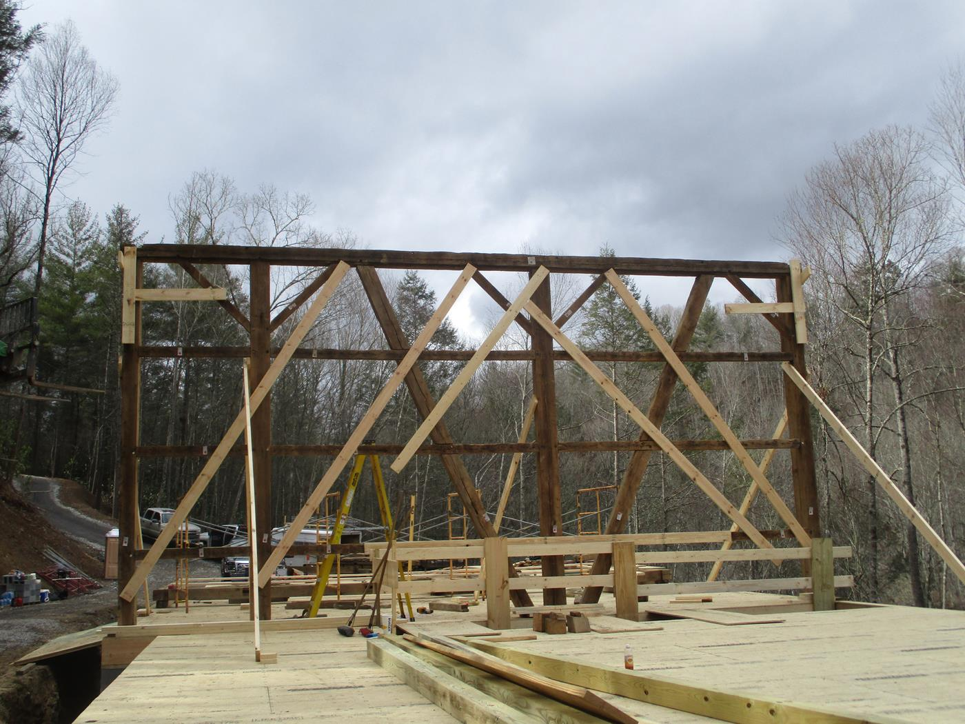 North Carolina Barn Raising Ohio Valley Barn Salvage 5