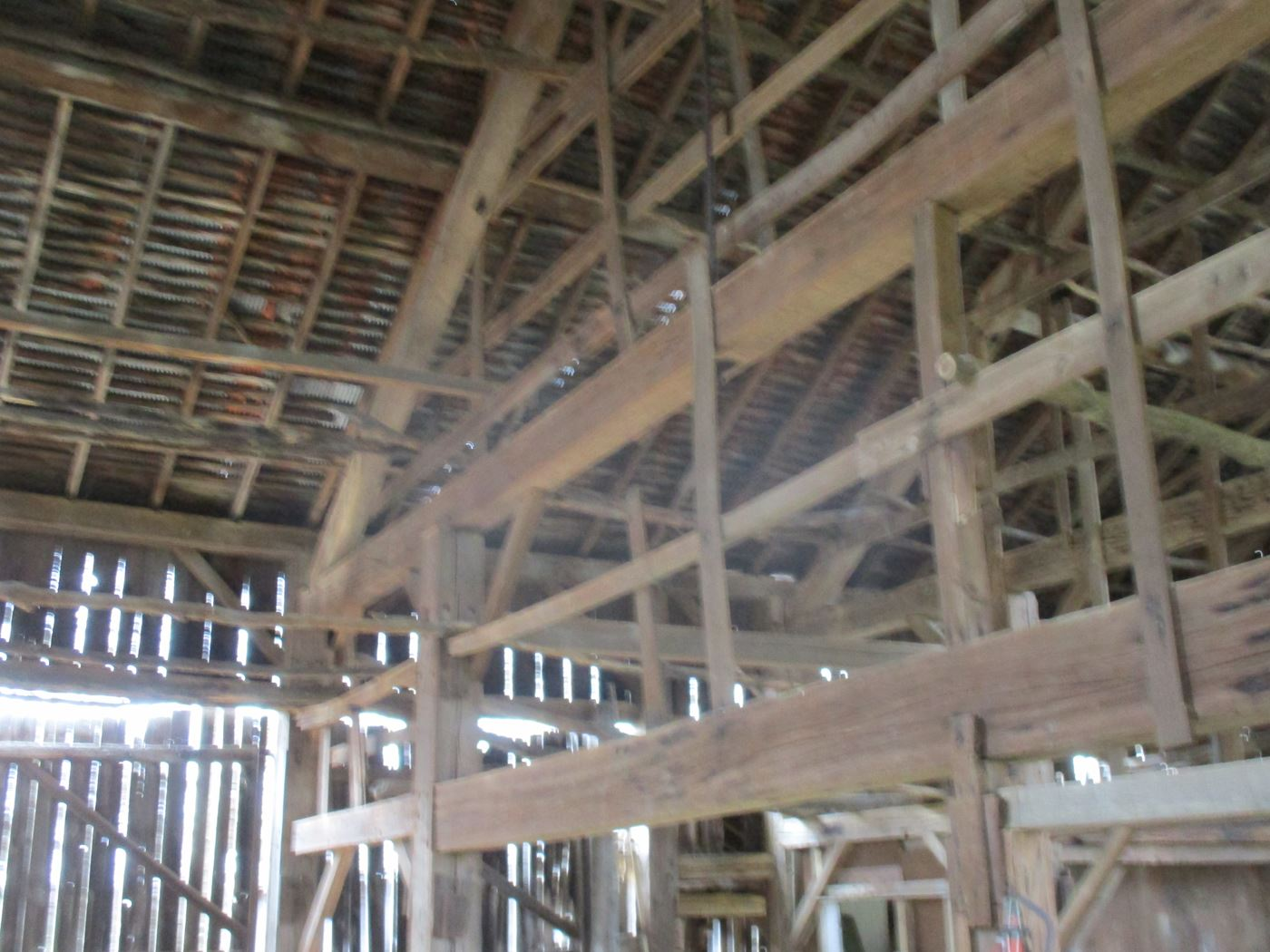 Ohio Valley Barn Salvage Green Barn Frame 10