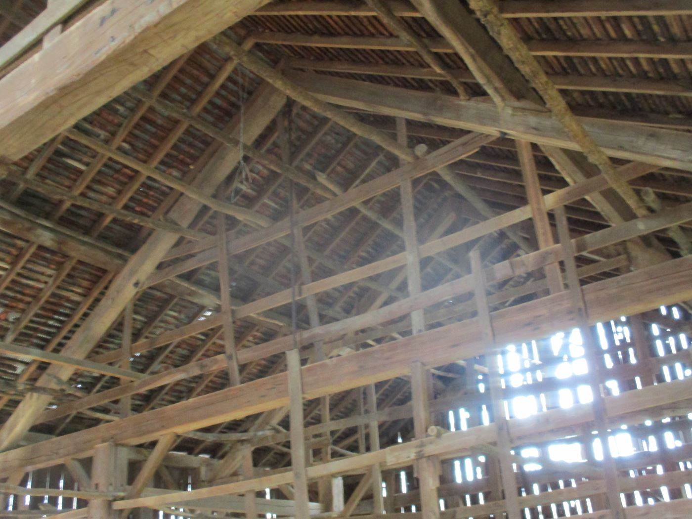 Ohio Valley Barn Salvage Green Barn Frame 11
