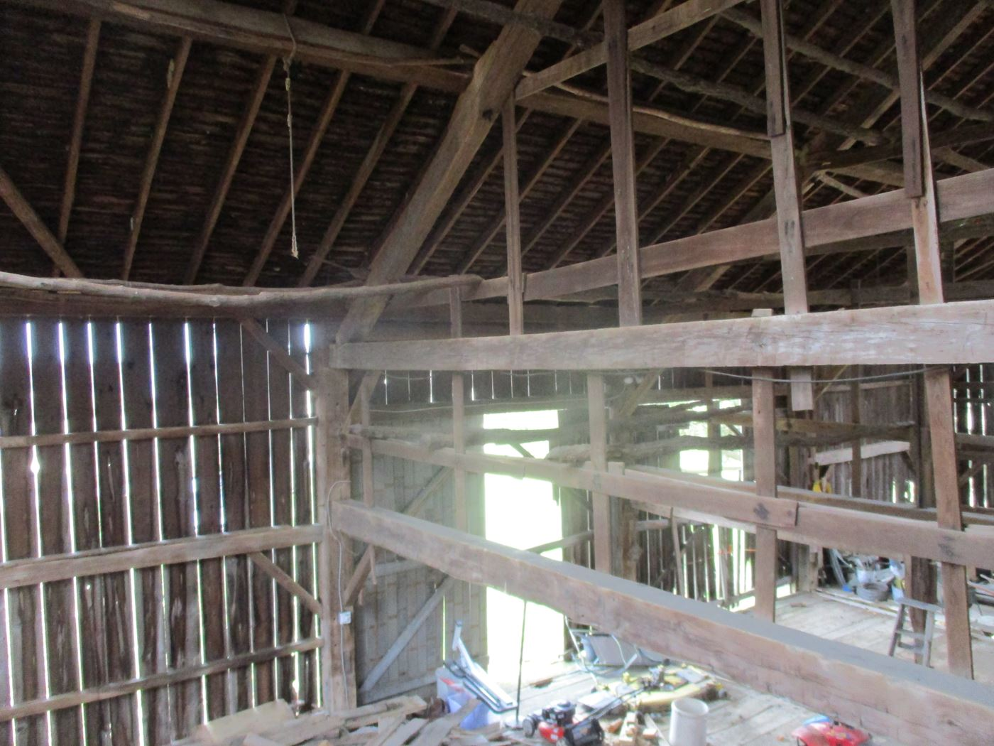 Ohio Valley Barn Salvage Green Barn Frame 12