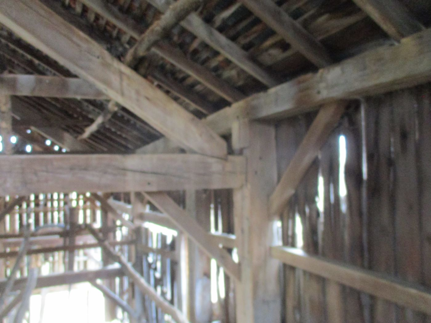 Ohio Valley Barn Salvage Green Barn Frame 14