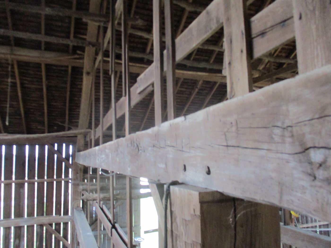 Ohio Valley Barn Salvage Green Barn Frame 16