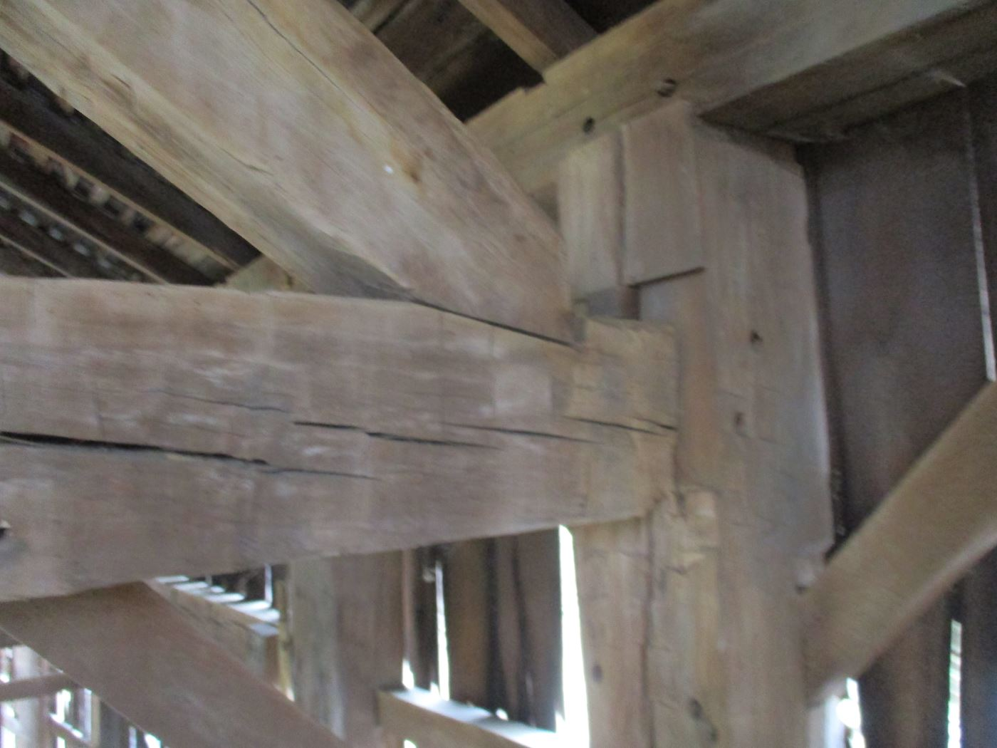 Ohio Valley Barn Salvage Green Barn Frame 17
