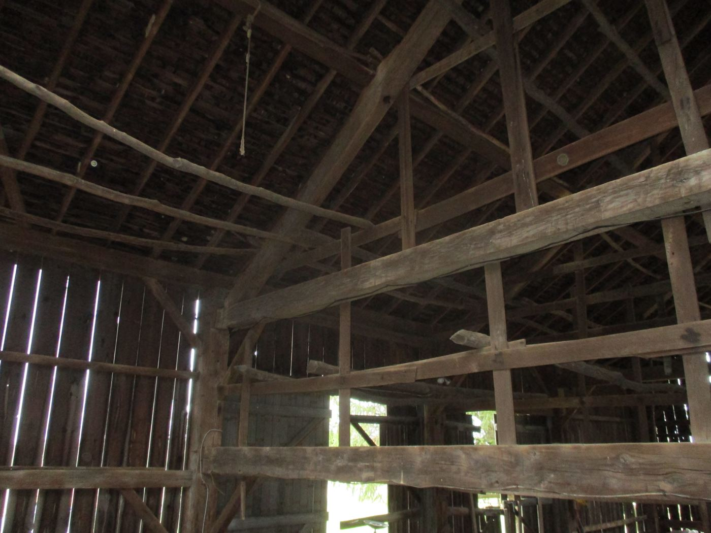Ohio Valley Barn Salvage Green Barn Frame 3