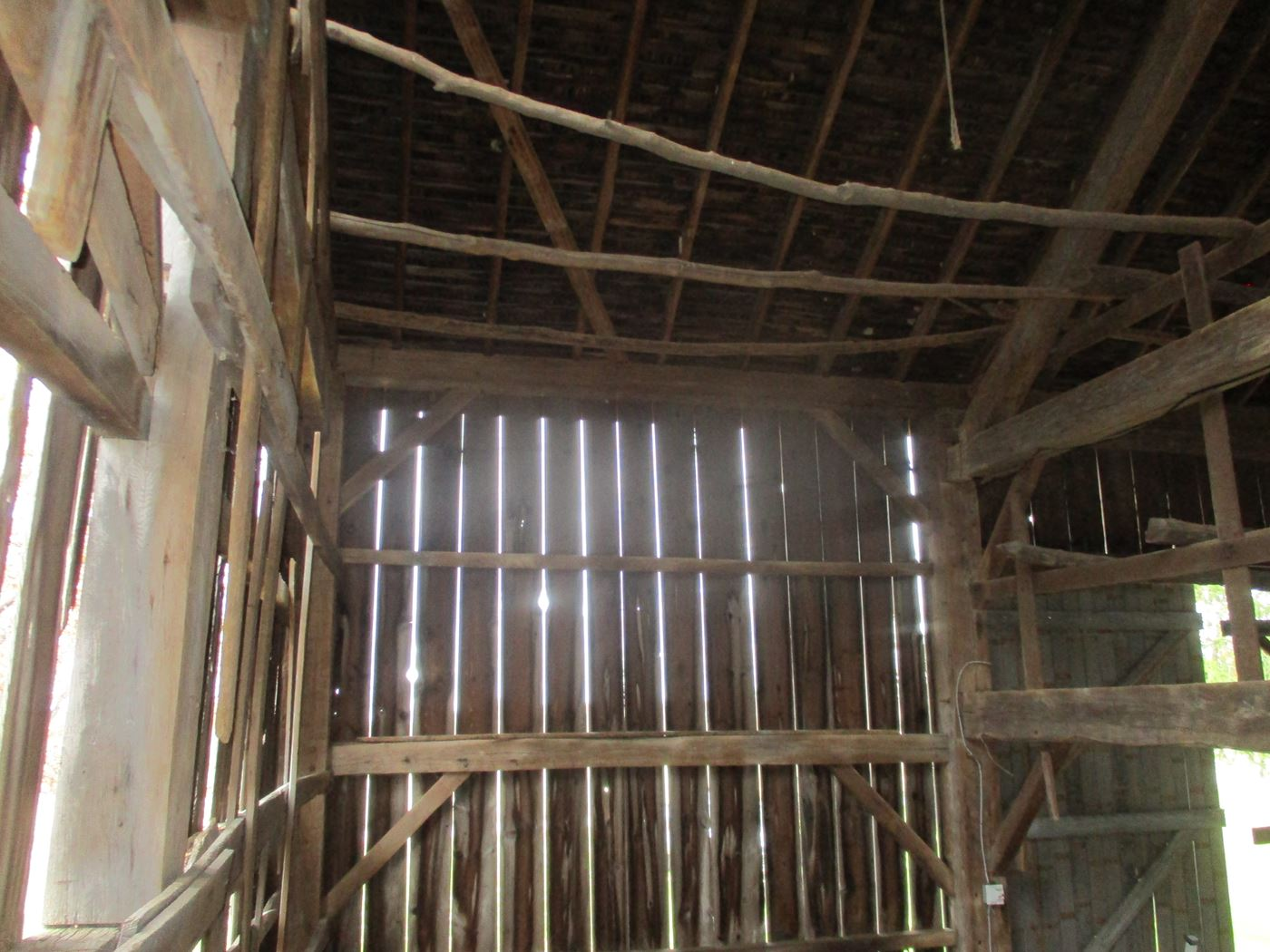 Ohio Valley Barn Salvage Green Barn Frame 4