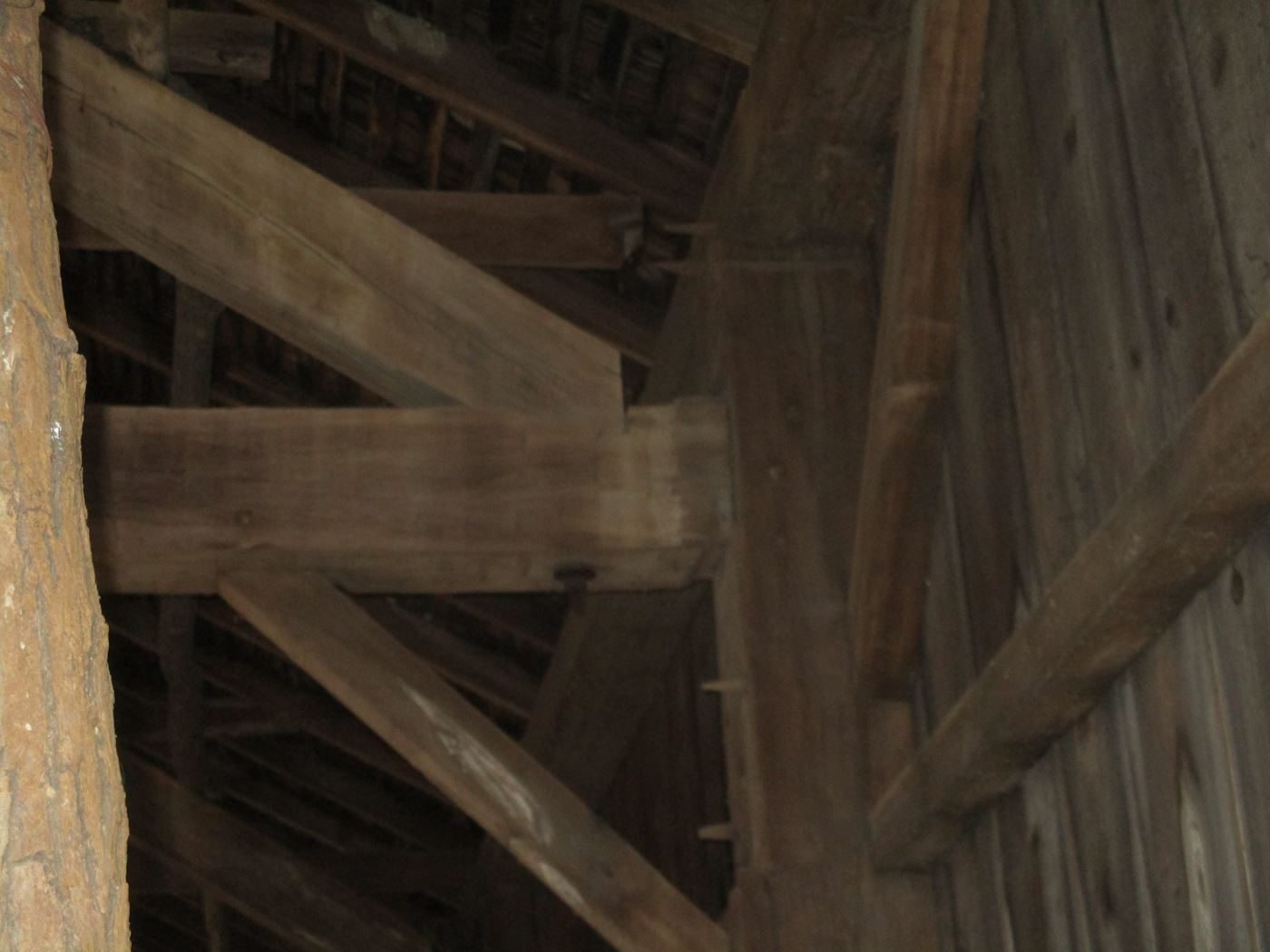 Ohio Valley Barn Salvage Green Barn Frame 7