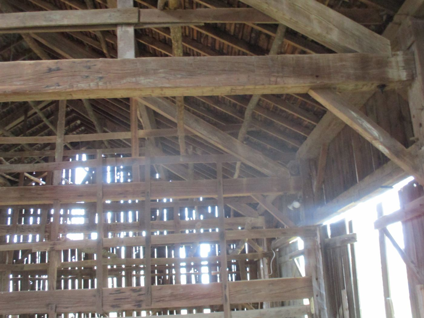 Ohio Valley Barn Salvage Green Barn Frame 9