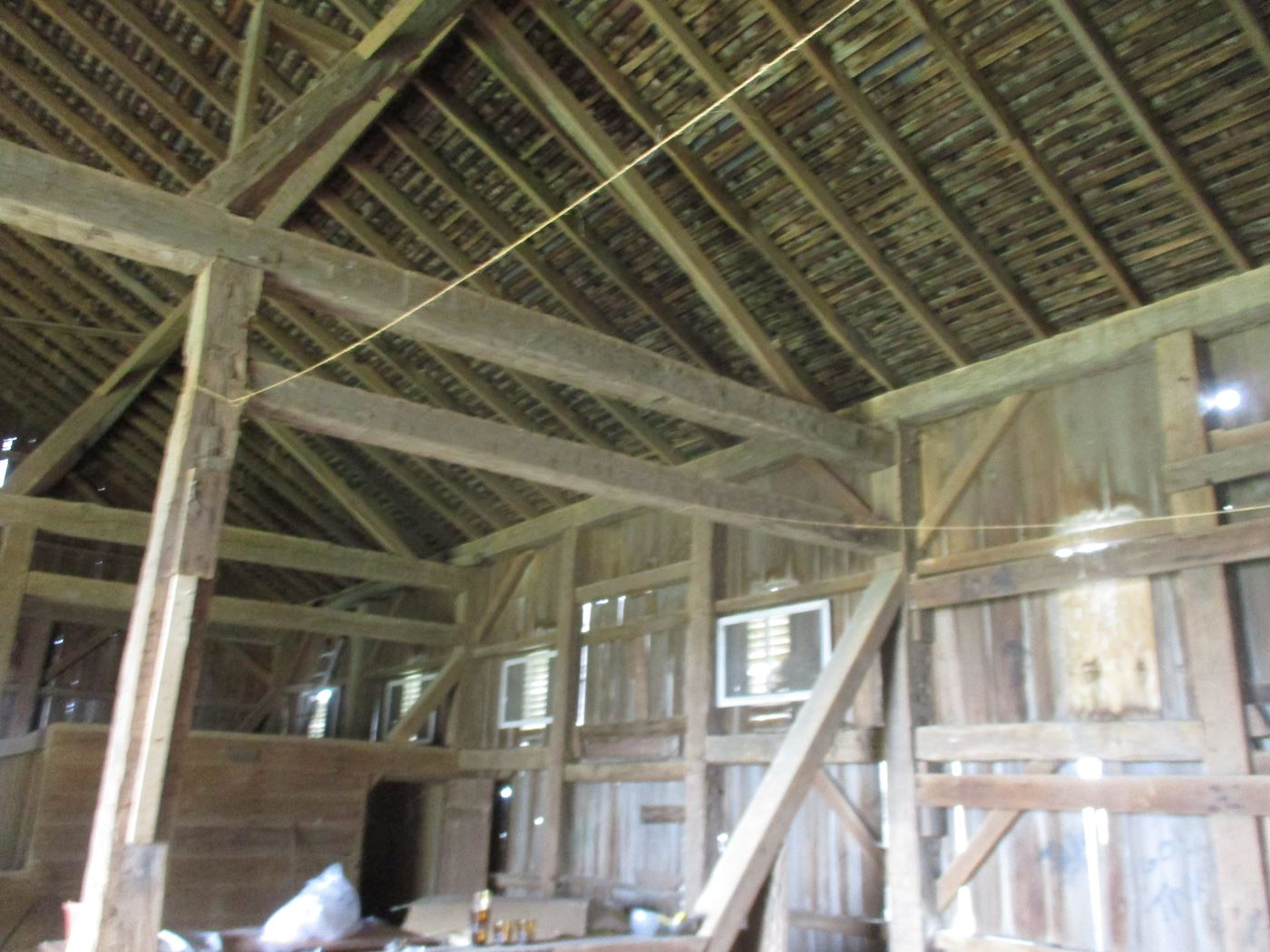 Ohio Valley Barn Salvage Hill Barn Frame 10