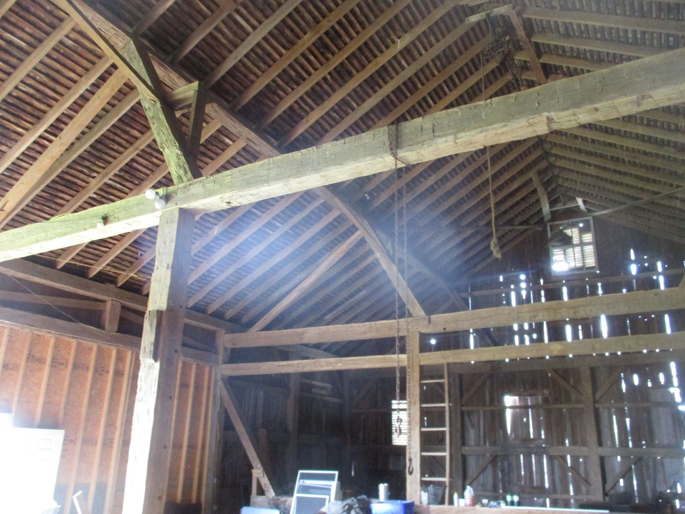 Ohio Valley Barn Salvage Hill Barn Frame 11
