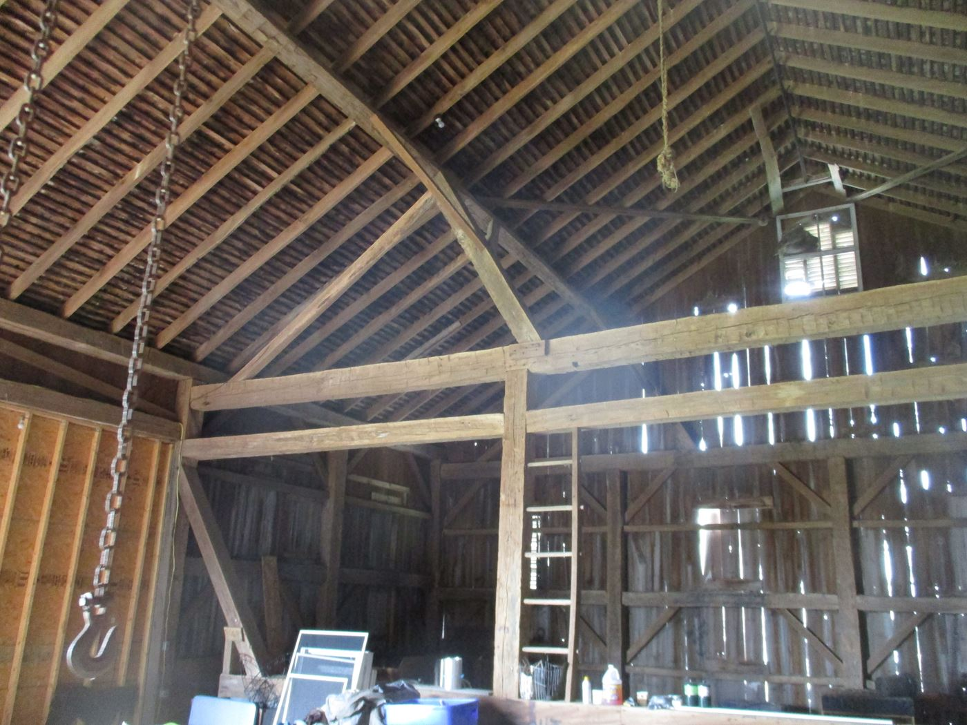 Ohio Valley Barn Salvage Hill Barn Frame 12
